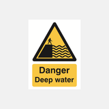Danger Deep Water Sign Raymac Signs