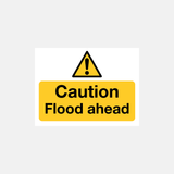 Flood Warning Caution Flood Ahead Sign Raymac Signs