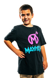 Florida Mayhem Youth Team Identity T-shirt, Black