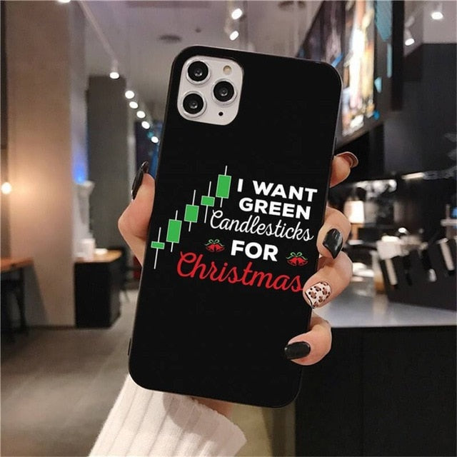 Trade Investment Forex Stock market Black Soft Shell Phone Case Capa for iPhone 11 pro XS MAX 8 7 6 6S Plus X 5S SE 2020 XR case