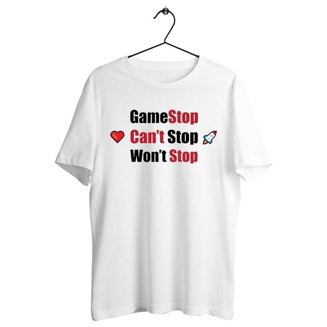 Gamestonk WSB Artwork Printed Tee