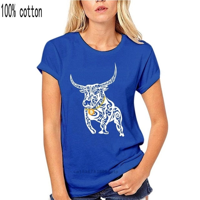 Bitcoin Shirt Cryptocurrency Bull Market Trading T-Shirt