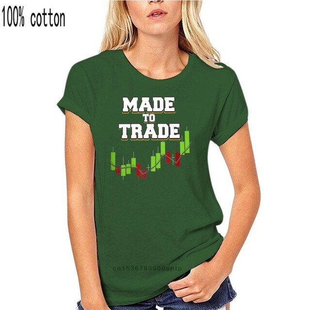 Big Size Day Trader Forex Candlestick Tees Made To Trade Popular Streetwear T Shirt For Man Harajuku T-Shirt 3D Print