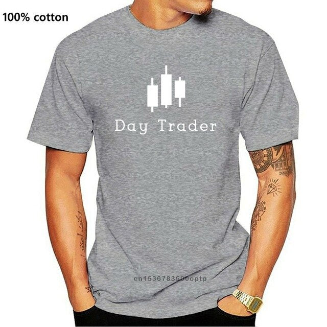 Day Trader Mens TShirt Currency Shares Trade Forex Entrepreneur Quote Gift Tee