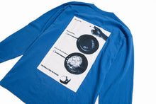 Load image into Gallery viewer, Internet Longsleeve T-Shirt (Cobalt)