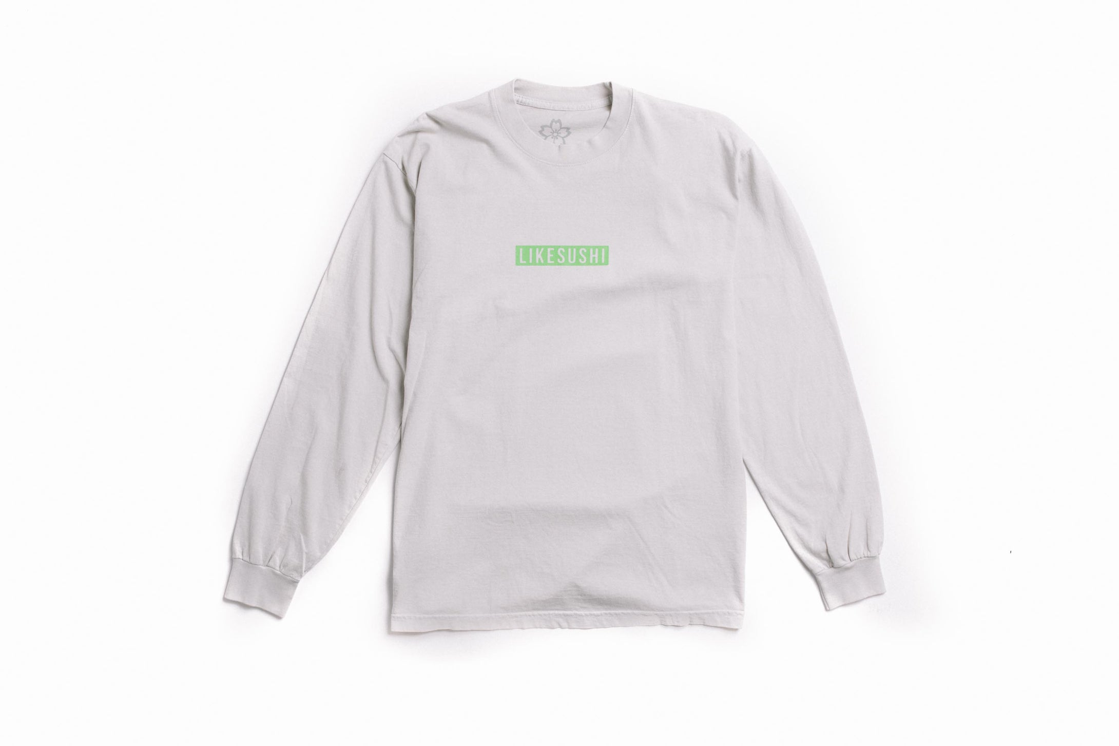 Internet Longsleeve T-Shirt (Cement)