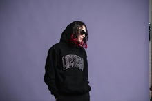 Load image into Gallery viewer, Arch Logo 2 Hooded Pullover (Black)