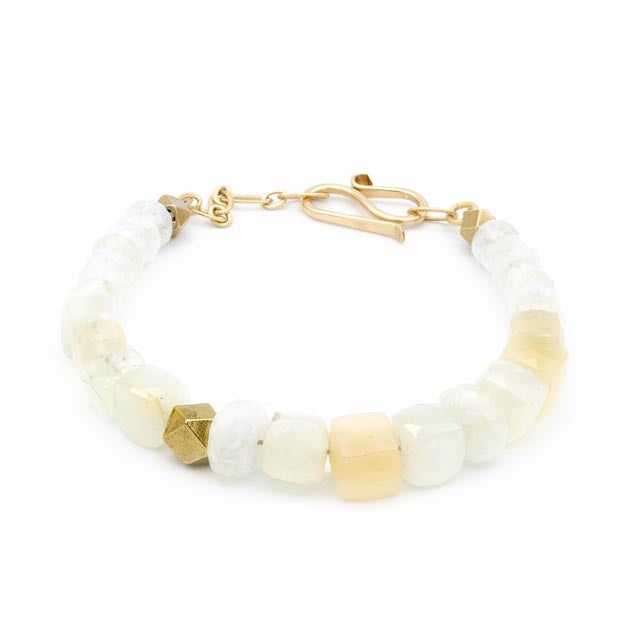Glos Lane Bracelet, Blush Moonstone