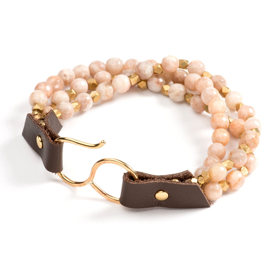 Larkmead Bracelet Blush Moonstone