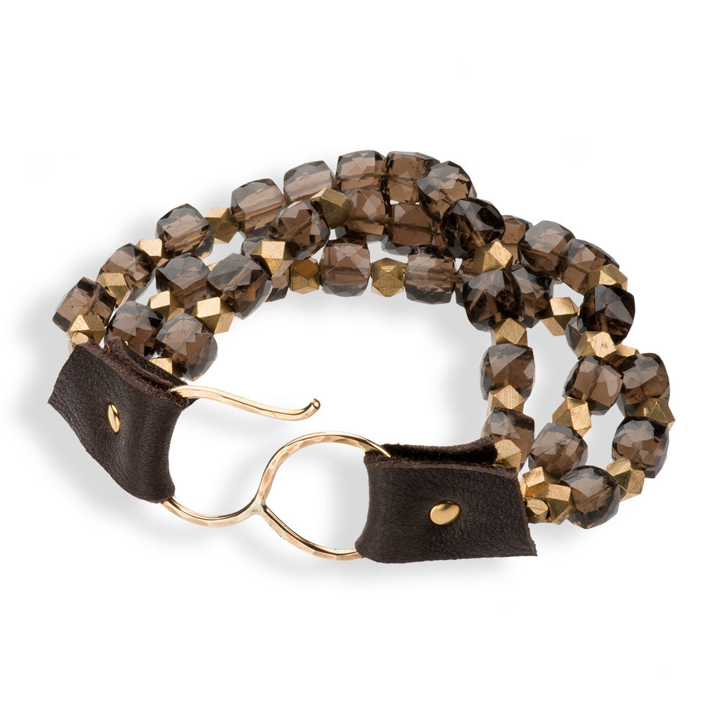 Yountville Bracelet Smokey Quartz
