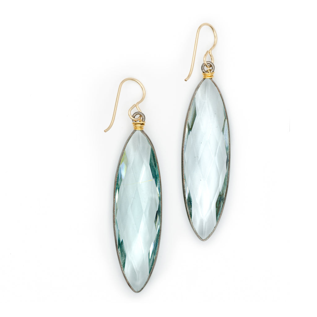 Bottlerock Earrings Prasiolite