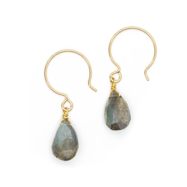 SoNa Earrings, Labradorite