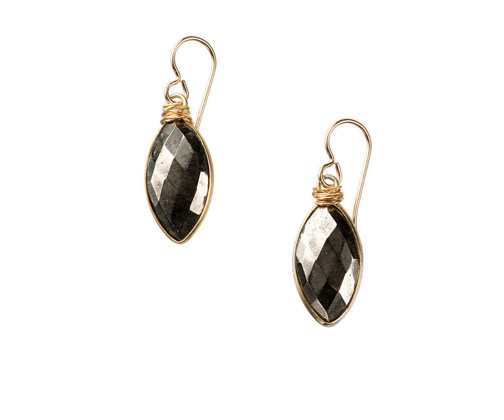 Helena Marquis Earrings Pyrite
