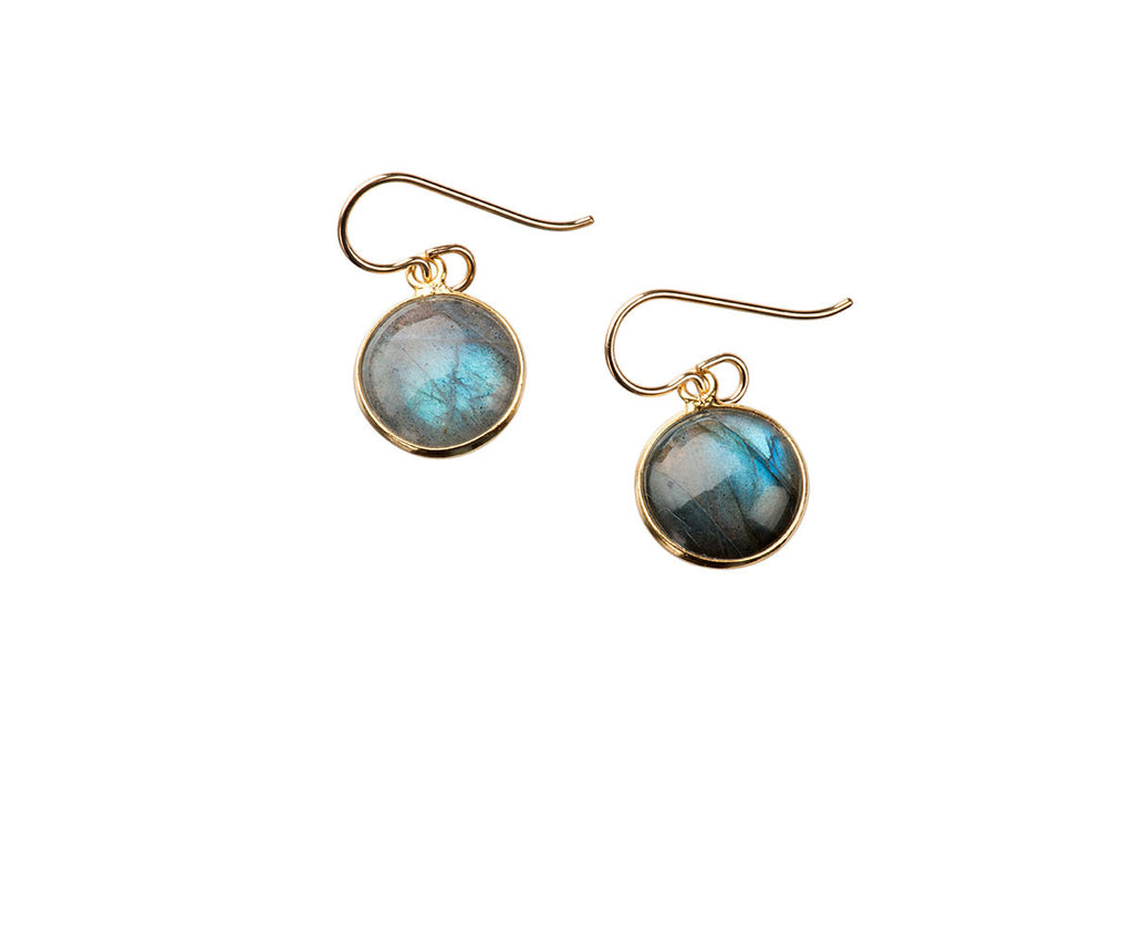 Luna Labradorite Earrings
