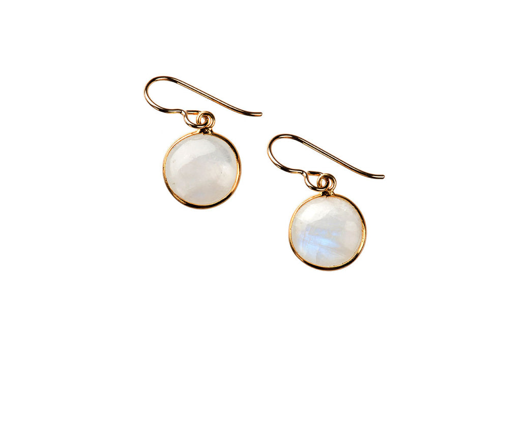 Luna Moonstone Earrings