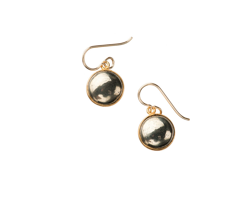 Luna Pyrite Earrings