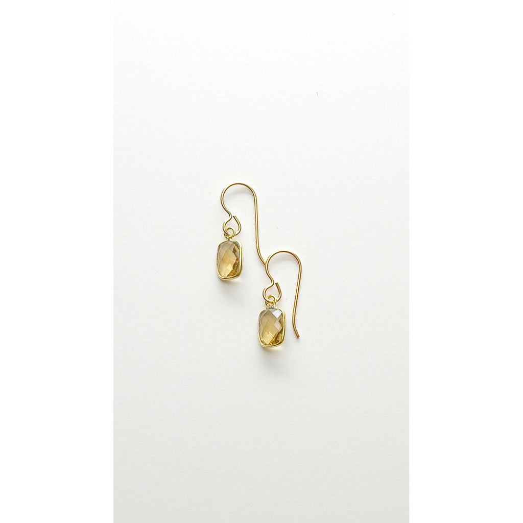 Helena Tiny Chiclet Earrings