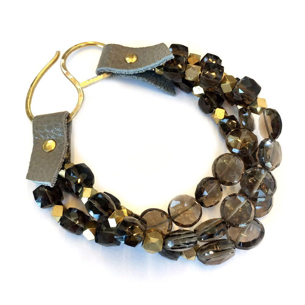 Rutherford Bracelet Smokey Quartz