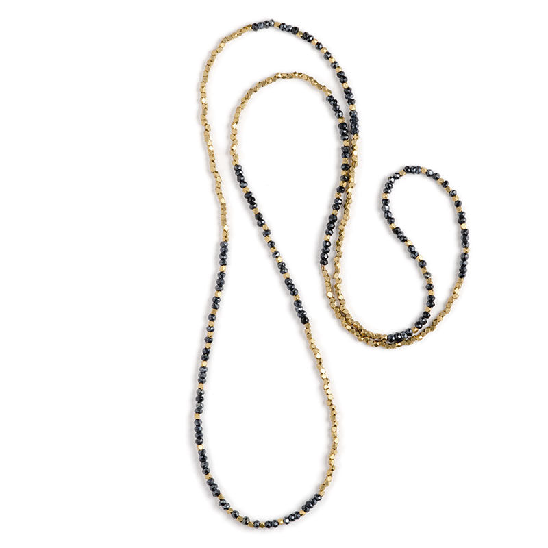 Atlas Peak Infinity Necklace Mystic Spinel