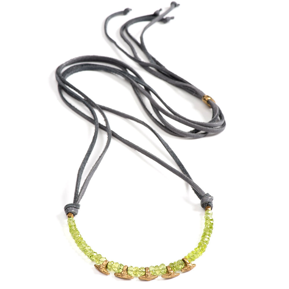 Asilomar Necklace Peridot