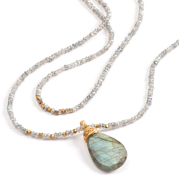 Avalon Necklace Labradorite