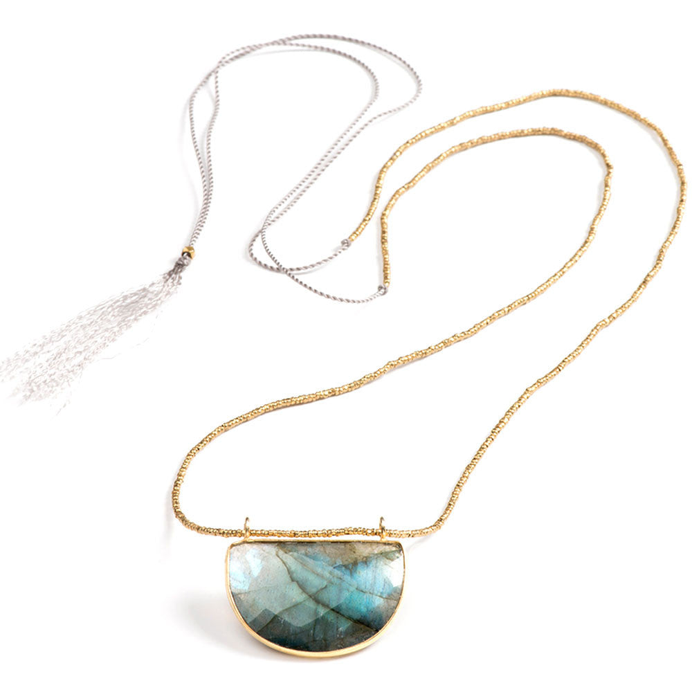 Oak Knoll Convertible Necklace Labradorite
