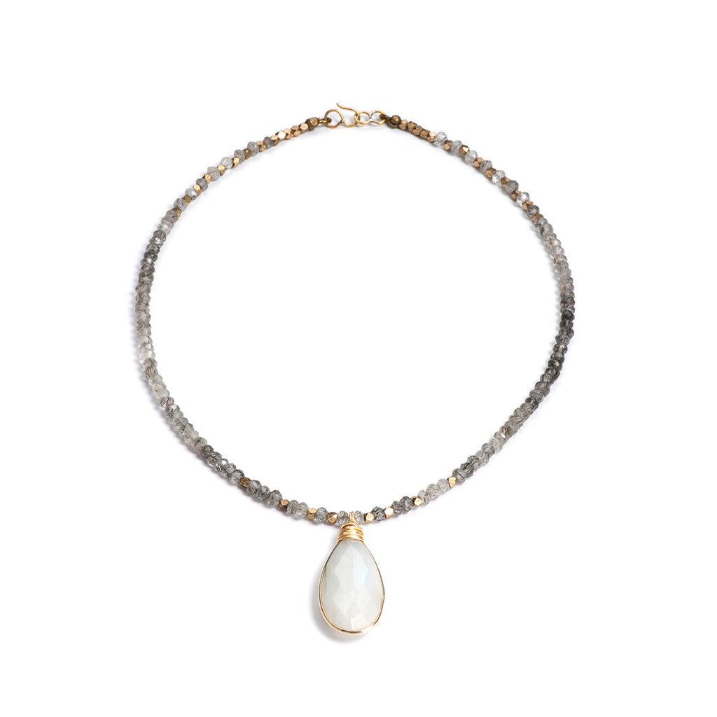 Cortez Necklace Moonstone