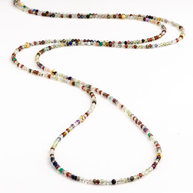 Confetti Infinity Necklace