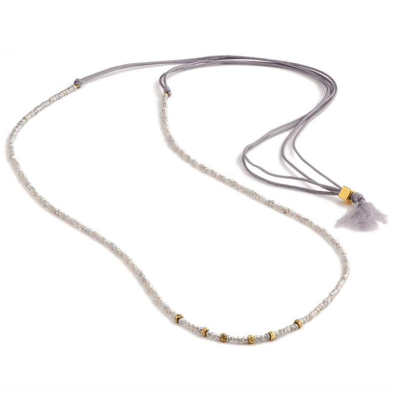 Elegance Necklace Labradorite