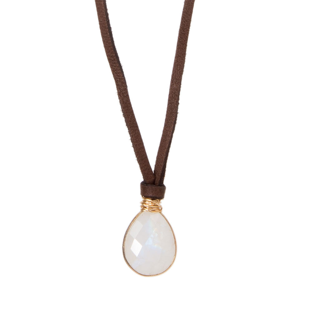 Helena Mini Pendant Moonstone