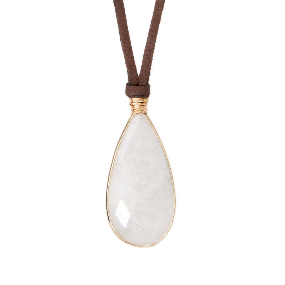 Helena Necklace Moonstone