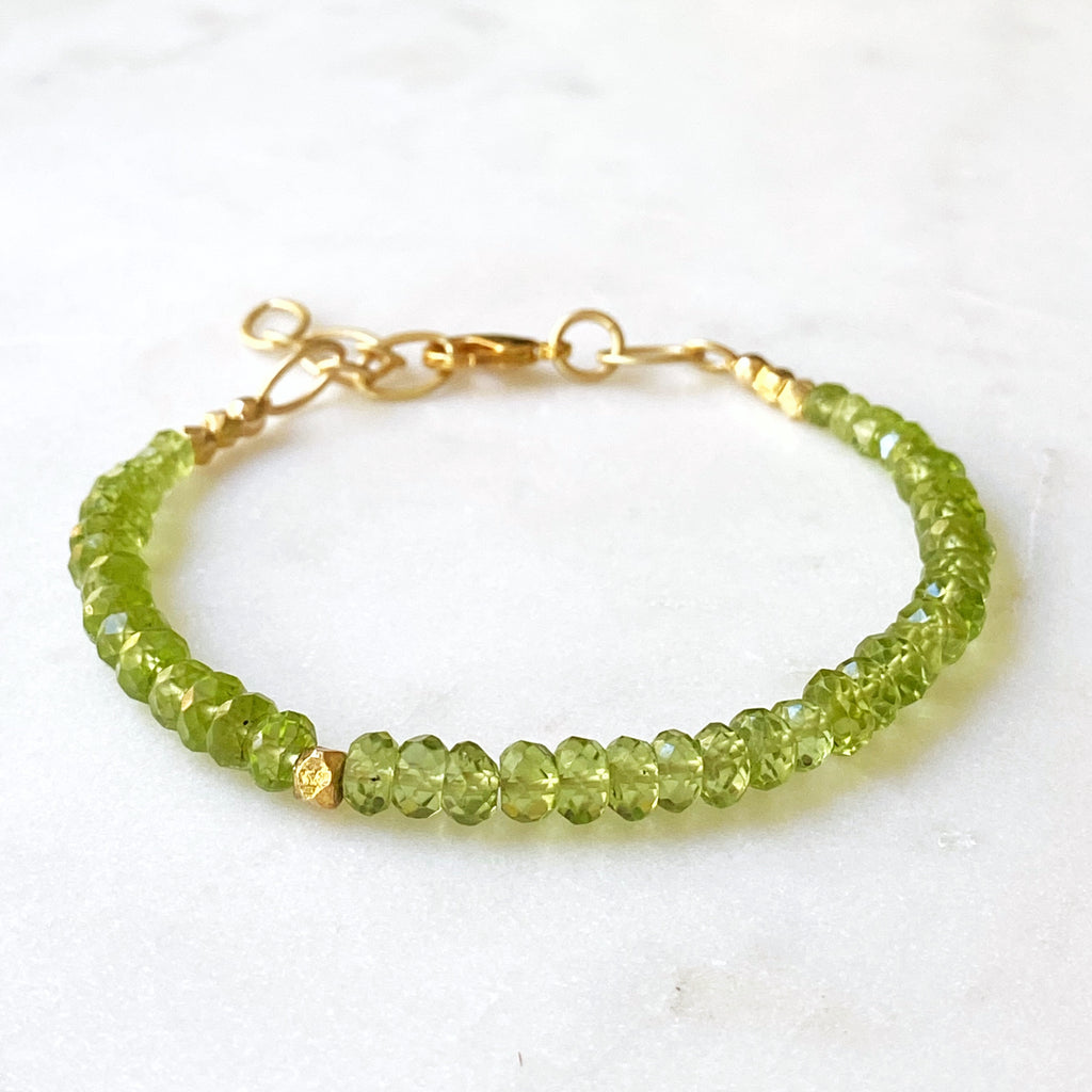 Headwaters Bracelet Peridot