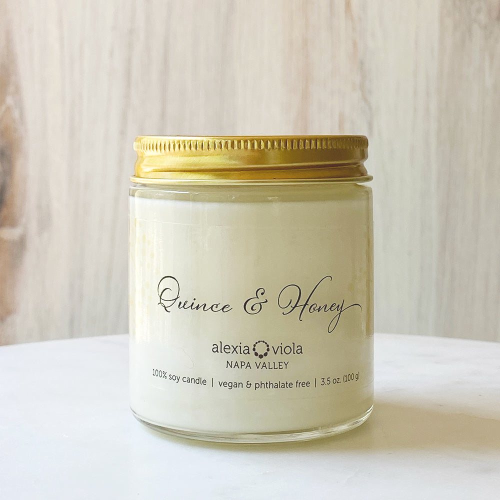 Quince & Honey Mini Candle