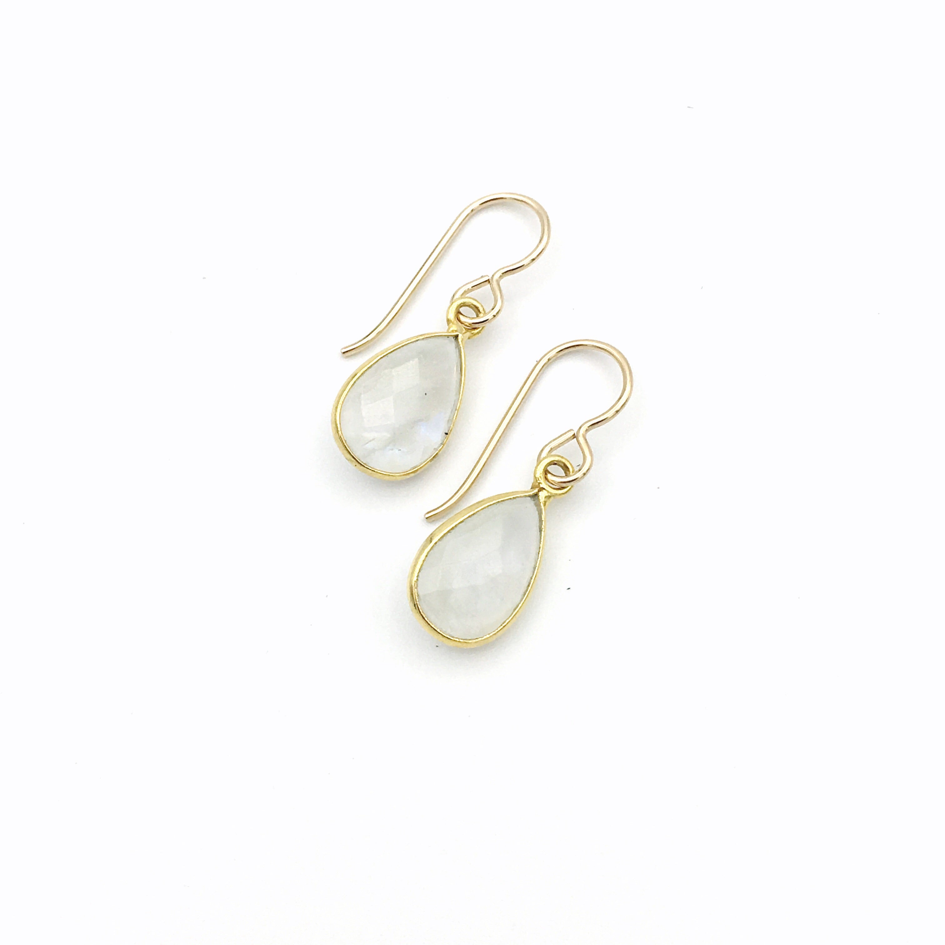 Helena Mini Teardrops Moonstone