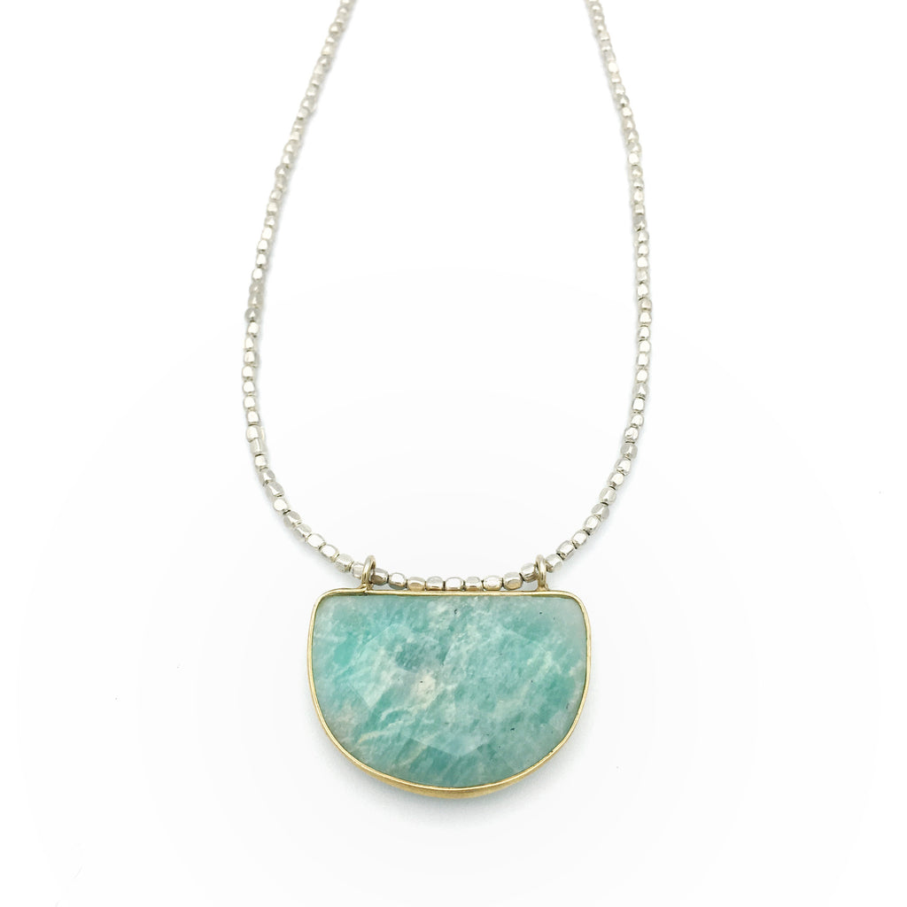 Oak Knoll Necklace Amazonite
