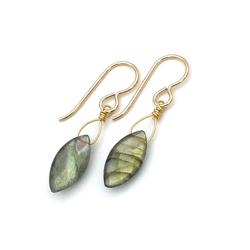 Celia Marquis Earrings, Labradorite