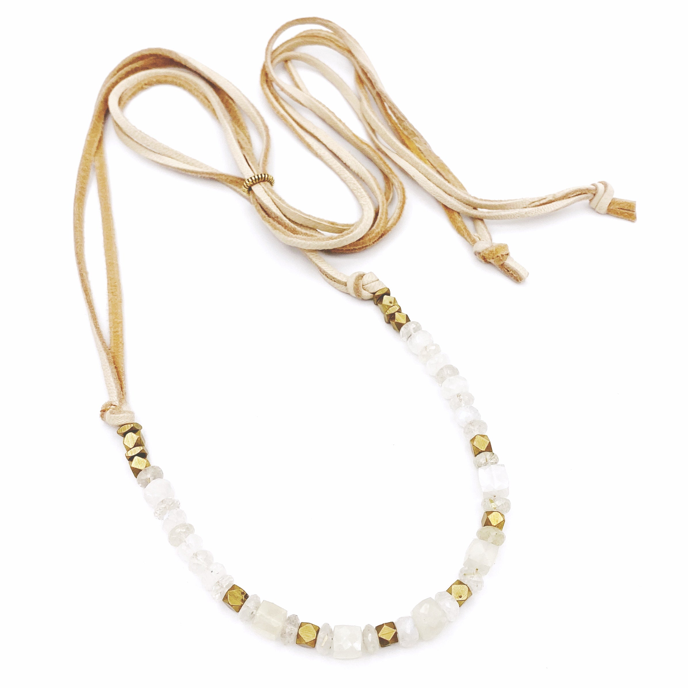 Bennett Necklace, Moonstone