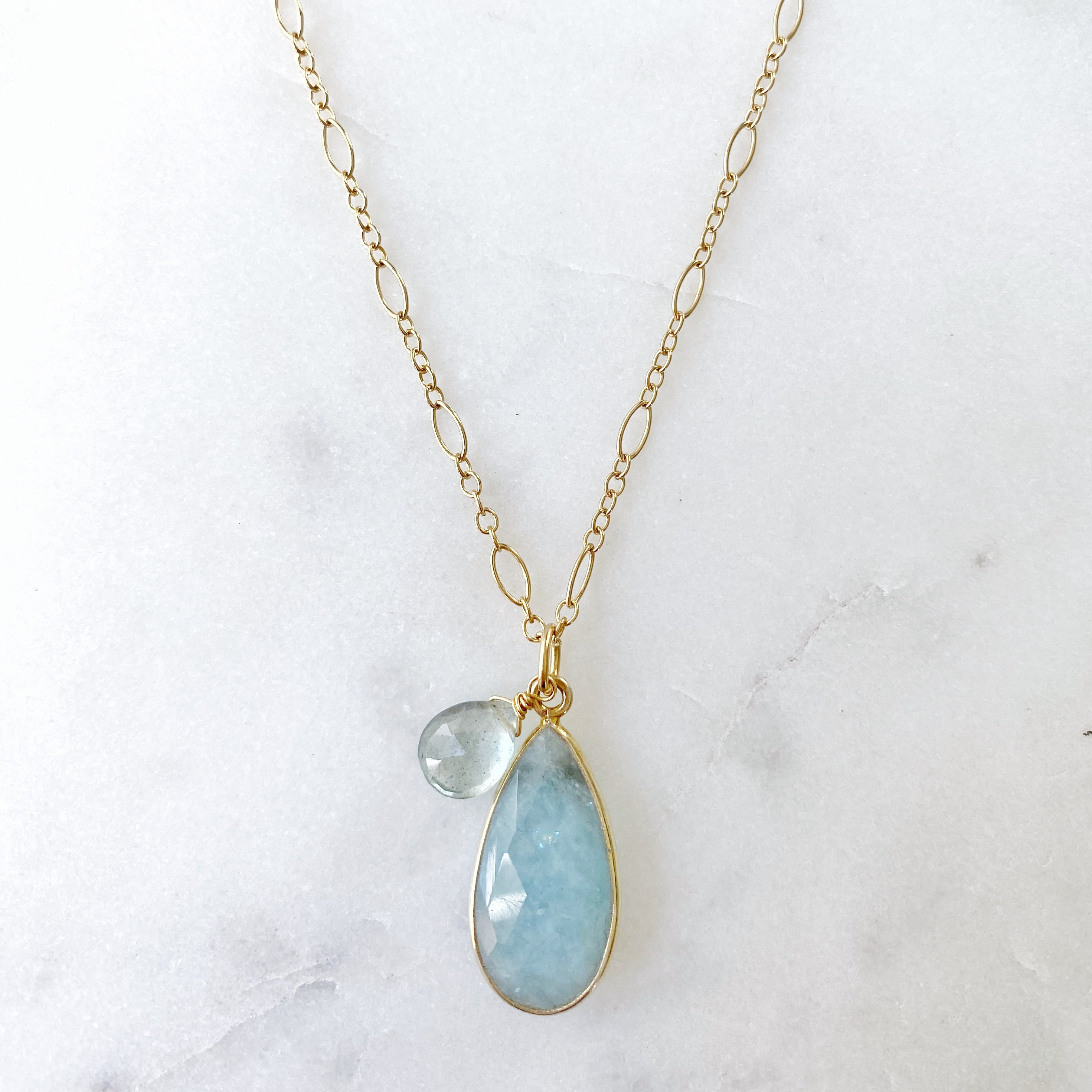 Private Reserve Necklace, Aquamarine