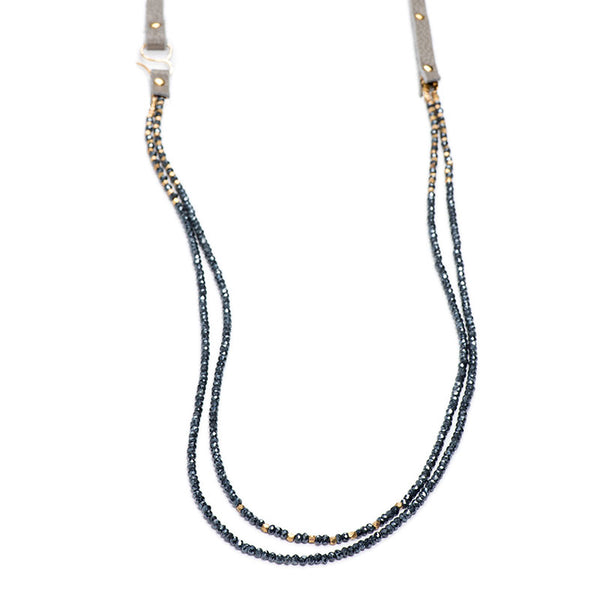 "Napa Necklace 36""  Mystic Spinel"