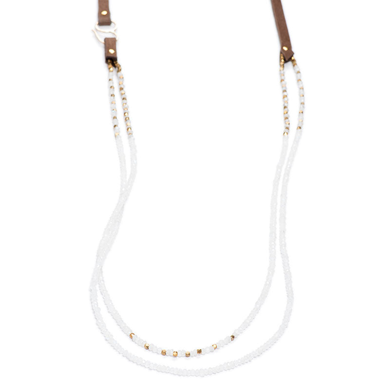 "Napa Necklace 36"" Moonstone"