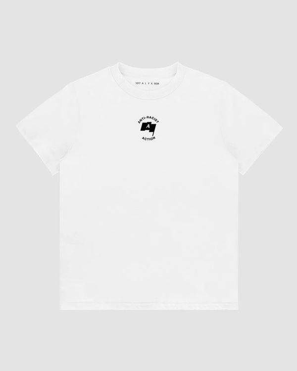 1017 ALYX 9SM released Anti Racist Action T-shirt.