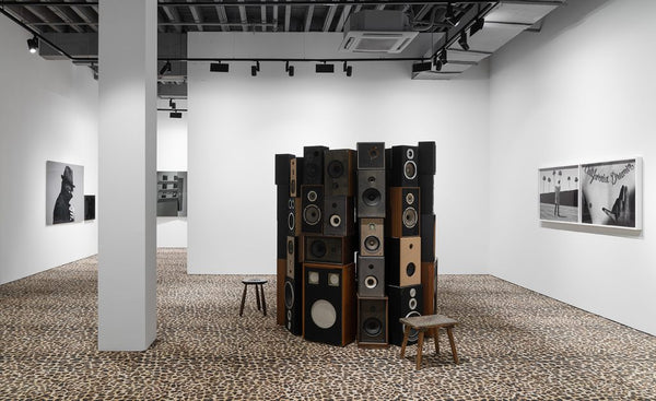 Hedi Slimane's Solo Exhibition Sun of Sound in Shanghai.