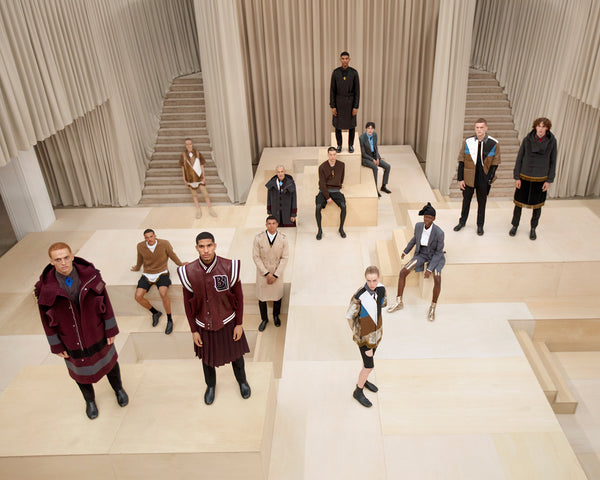 Burberry 2021aw Collection.