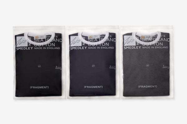 FRAGMENT DESIGN × JOHN SMEDLEY × SEQUEL releasing on April 9th.