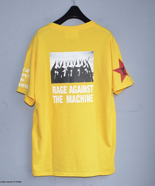 × LABRAT Rage IS first×Num&Guns TEE YELLOW