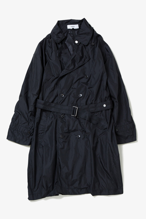hight density taffeta trench coat
