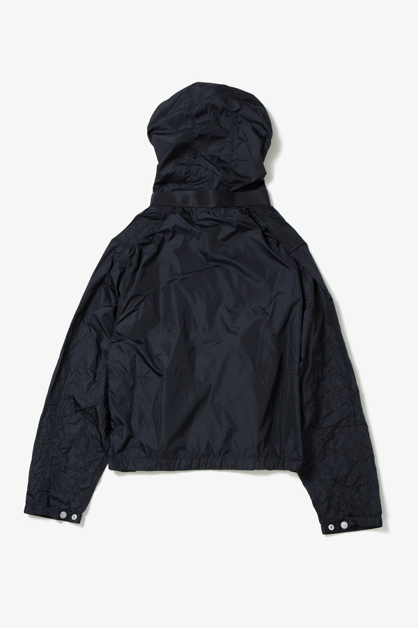 hight density taffeta hoodie blouson