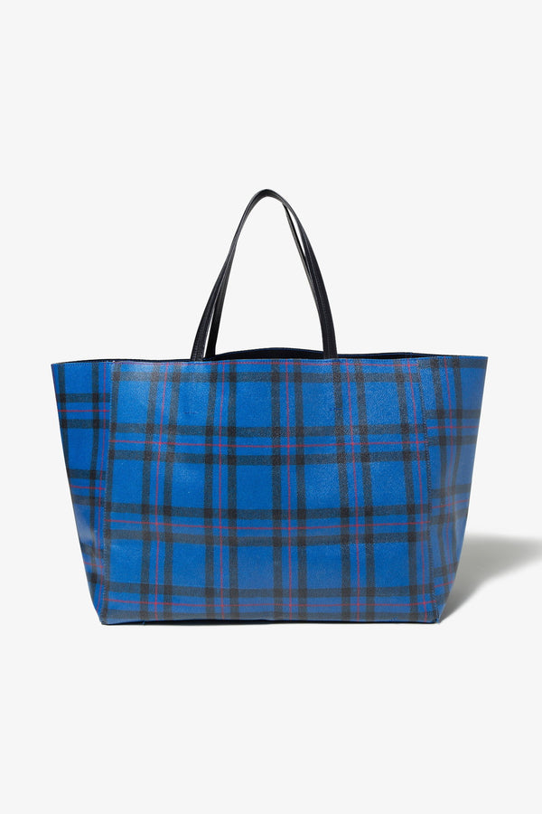 A Store Robot FABRICK TOTE BAG-BLUE