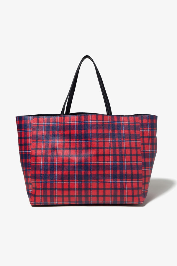 A Store Robot FABRICK TOTE BAG-RED