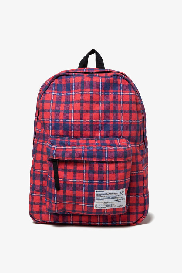 A Store Robot FABRICK BACK PACK-RED